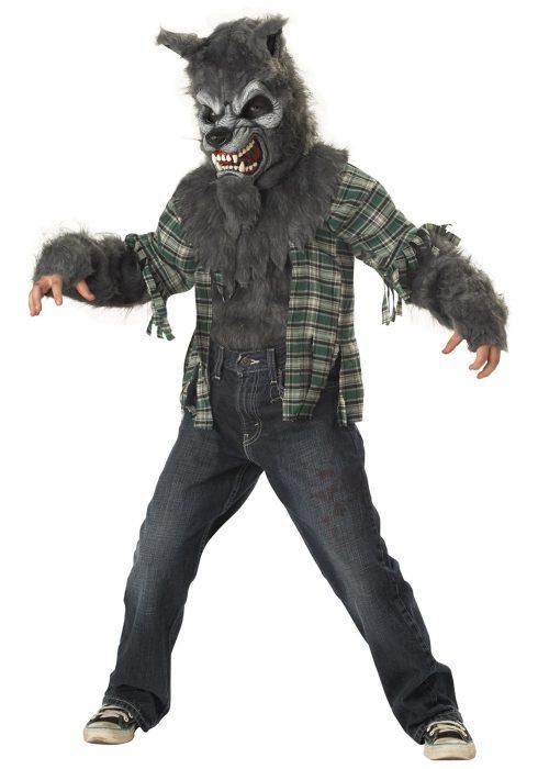 Child Werewolf Costume