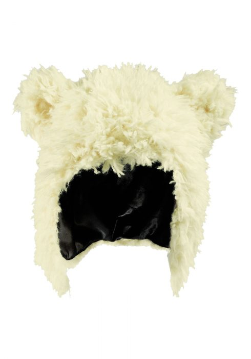 Child White Bear Hat
