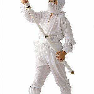 Child White Ninja Costume