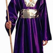Child Wiseman Costume (purple)