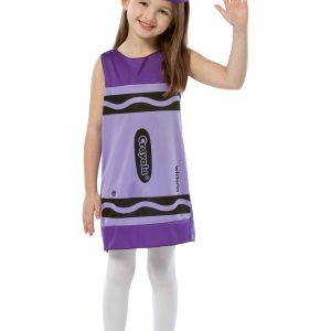 Child Wisteria Crayon Dress