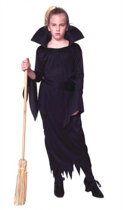 Child Witch Costume w/ Collar