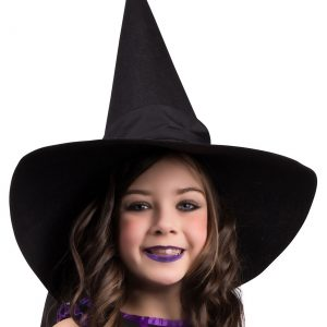 Child Witch Hat with Bow