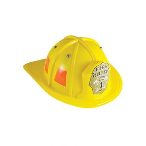 Child Yellow Firefighter Helmet