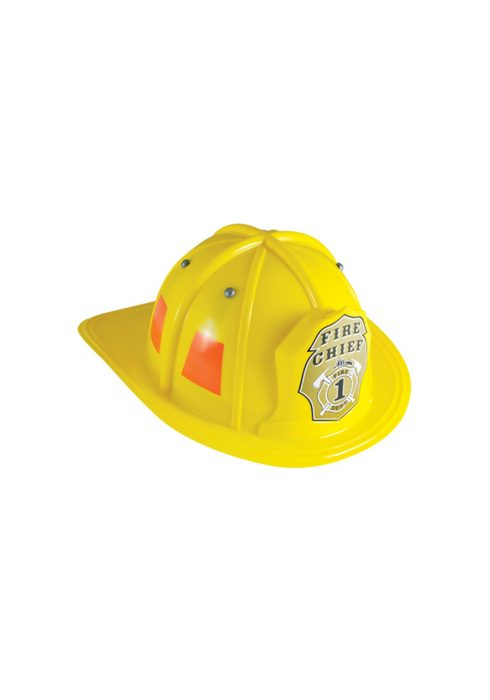 Child Yellow Firefighter Helmet