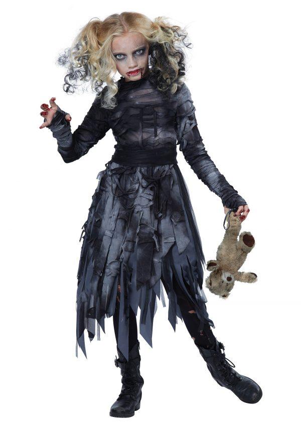 Child Zombie Girl Costume