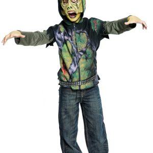 Child Zombie Hoodie Costume