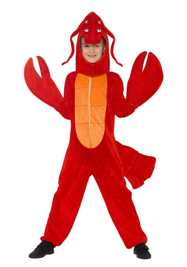 Child's Red Lobster Costume