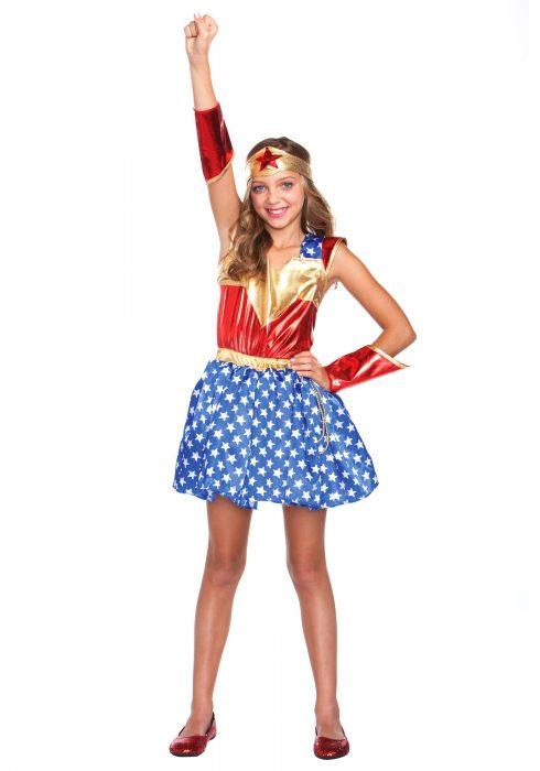 Child's Wonder Girl Costume