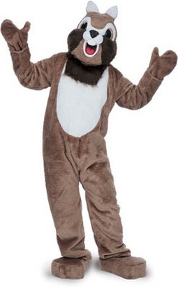 Chipmunk Mascot Costume