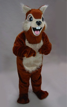 Chippy Chipmunk Mascot Costume