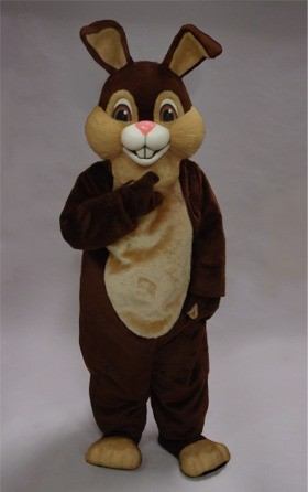 Chocolate Rabbit Mascot Costume
