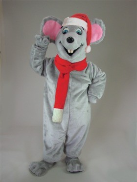Christmas Mouse Mascot Costume