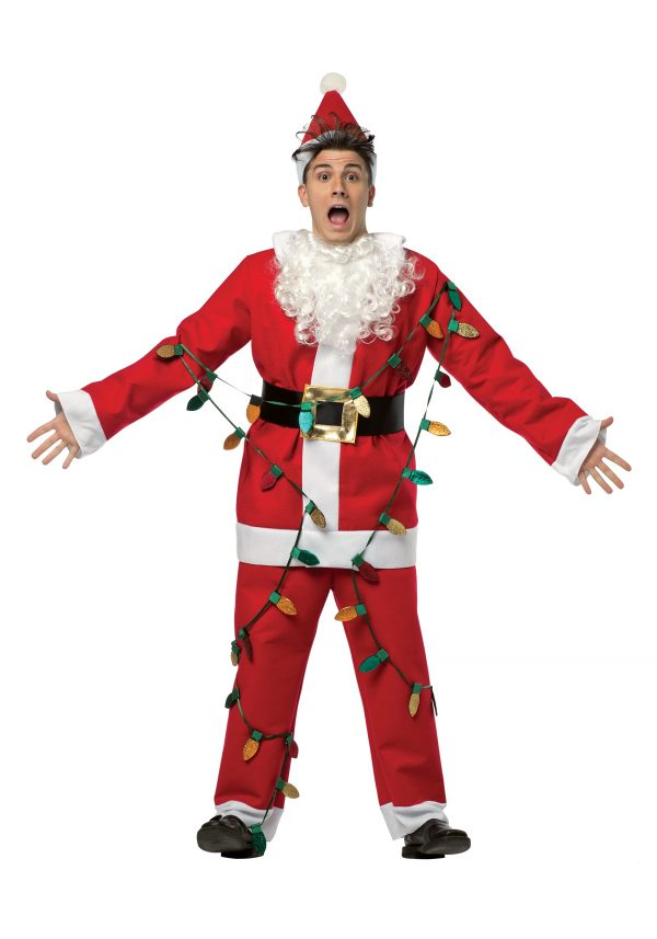 Christmas Vacation Adult Santa Costume