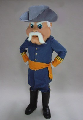Civil War Hero Mascot Costume