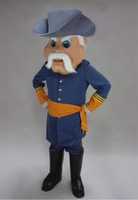 Civil War Hero Mascot Costume