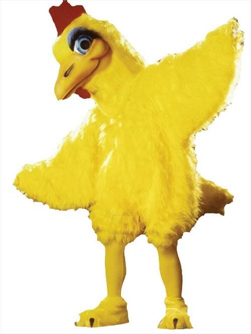 Clara Cluck Chicken Mascot Costume