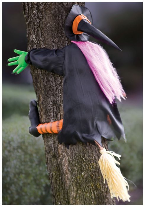 Classic Crashing Witch