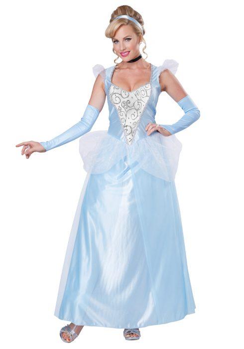 Classic Plus Size Cinderella Costume