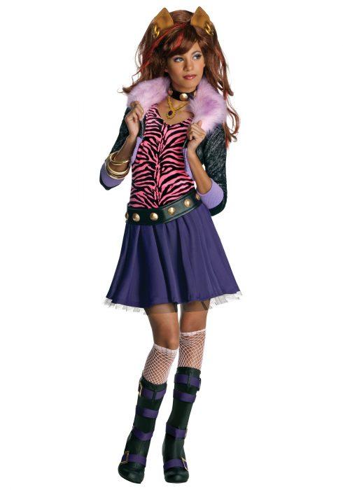 Clawdeen Wolf Costume