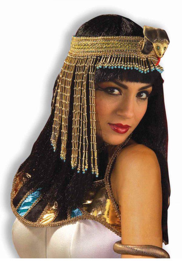Cleopatra Beaded Snake Headband