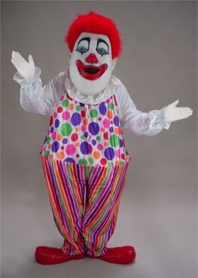 Clown Mascot Costume