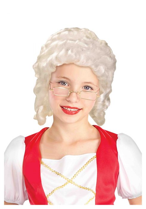 Colonial Girl Wig