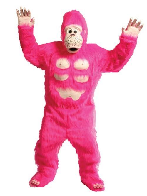 Comic Gorilla Mascot Costume