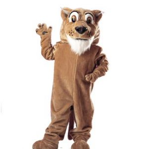 Corby Cougar Mascot Costume