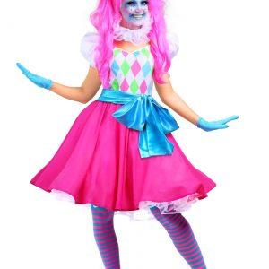 Cotton Candy Clown Women's Costume