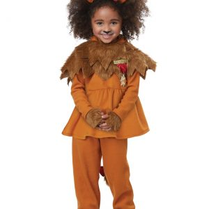 Courageous Lion of Oz Toddler Girls Costume