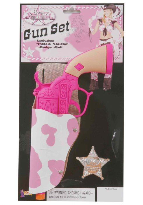 Cowgirl Gun and Holster Set