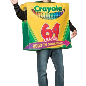 Crayola 64-Piece Crayon Box Adult Costume