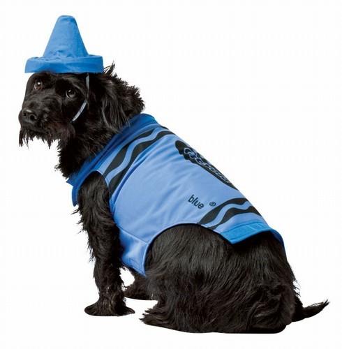 Crayola Crayon Dog Costume - Blue