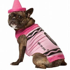 Crayola Crayon Dog Costume - Pink