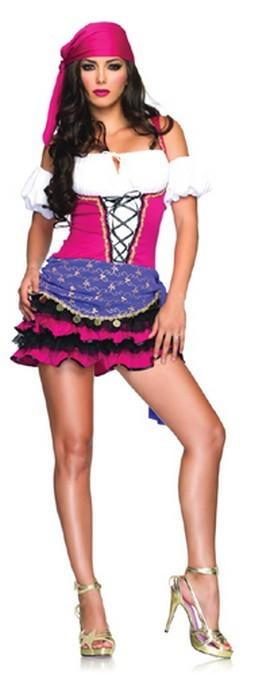 Crystal Ball Sexy Gypsy Costume