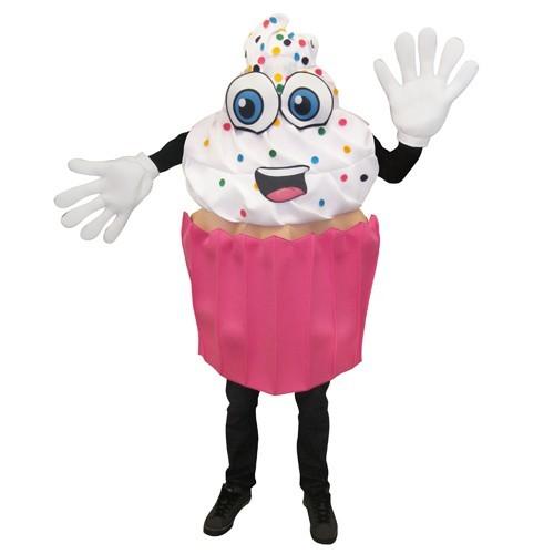 Cupcake Mascot