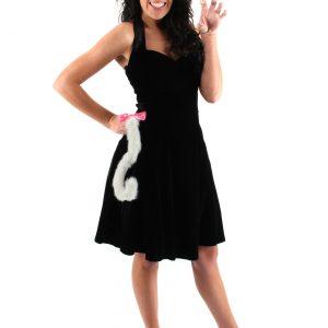 Cute Kitty White Ears & Tail Set