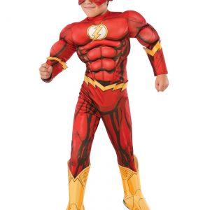 DC Comics Deluxe Child Flash Costume