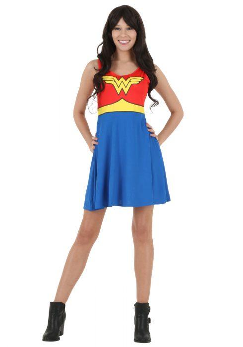 DC Comics Wonder Woman A Line Dress