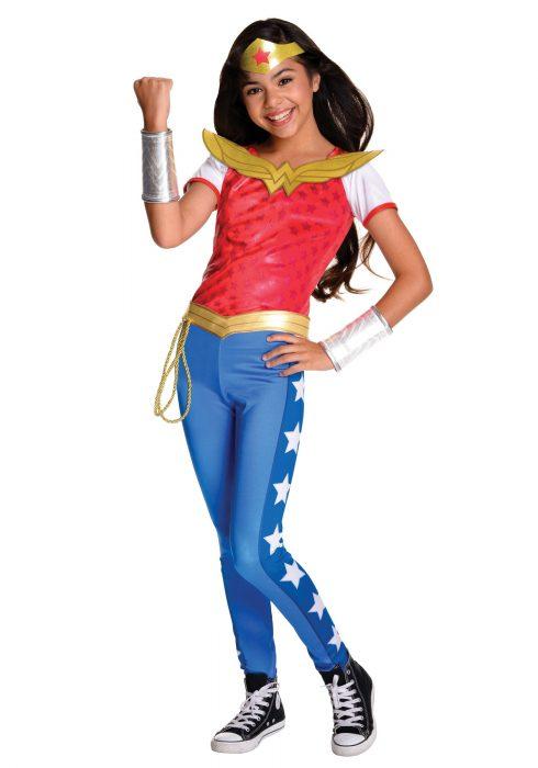 DC Superhero Girls Deluxe Wonder Woman Costume