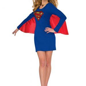 DC Women's Supergirl Cape Dress