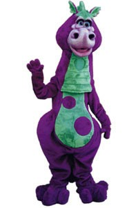 Da Dragon Mascot Costume
