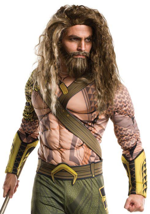 Dawn of Justice Adult Aquaman Wig and Beard Set
