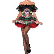 Day of the Dead Doll Costume