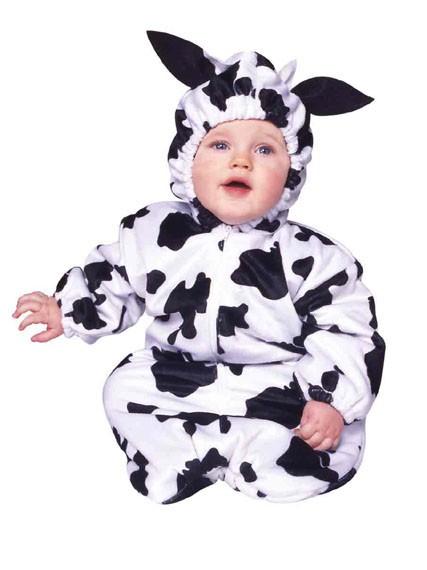 Deluxe Baby Cow Costume