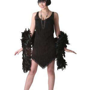 Deluxe Black Flapper Costume