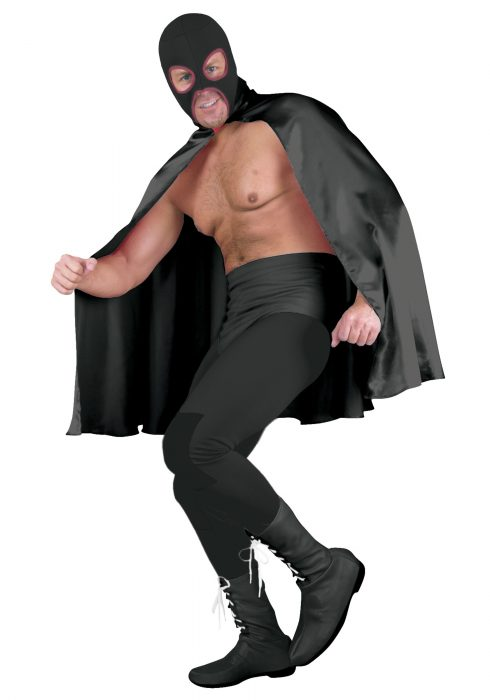 Deluxe Black Superhero Cape
