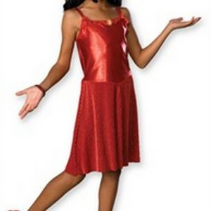 Deluxe Child High School Musical Gabriella Costume