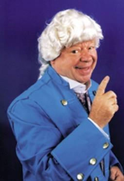Deluxe Colonial Man Wig